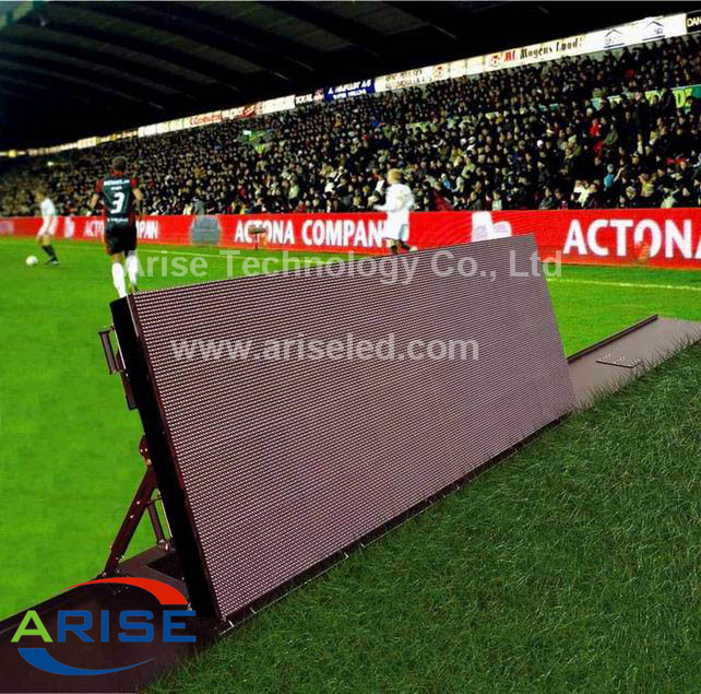 Sport stadium LED dsiplay 1280×1024mm Pixel pitch p8mm p10mm,ARISELED.COM