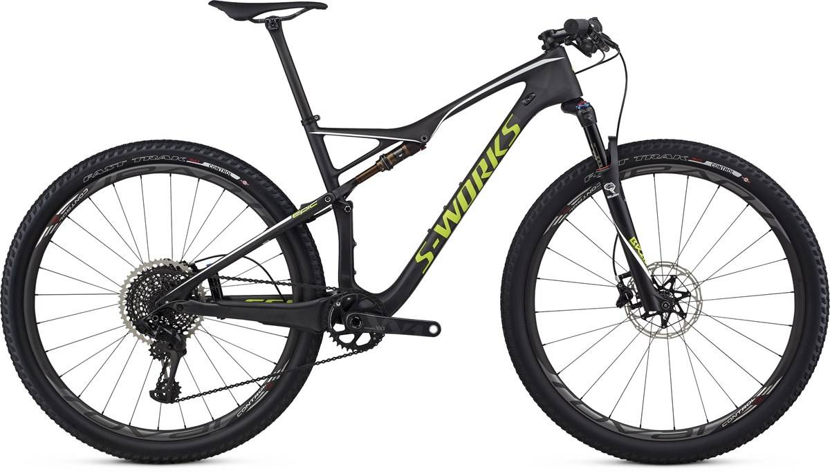 Specialized S-Works Epic FSR World Cup 29er Mountain Bike 2017