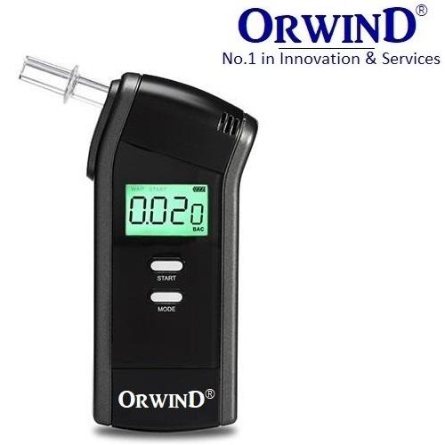 NEW ORWIND Breathalyzr+ Alcohol Breath Tester/ Analyzer/ Detector OD7000 Professional Breathalyzer