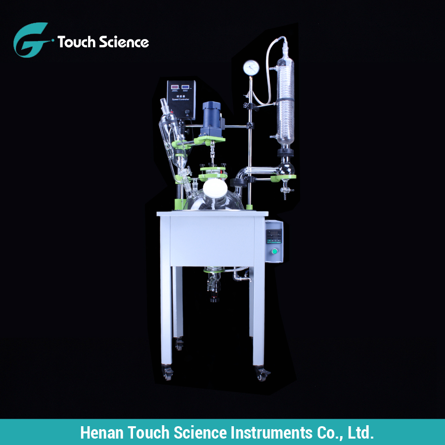 Touch Science F-20L Single Glass Reactor in Good Price