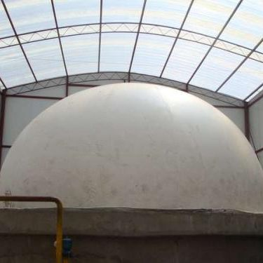 China soft PVC material biogas storage plant