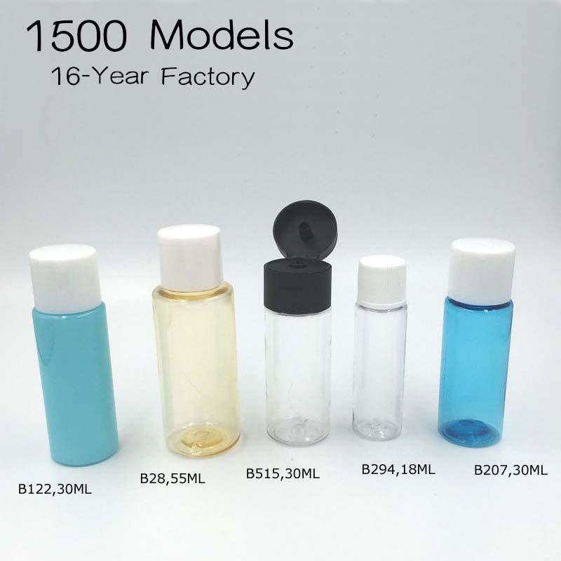Plastic Lotion Bottle Sample Packaging