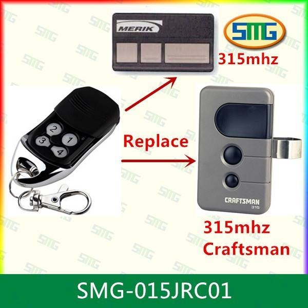 eplace Craftsman Garage Door Opener Remote 315mhz