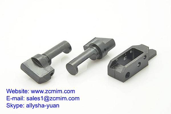 Metal injection molded tungsten alloy fittings knitting machine
