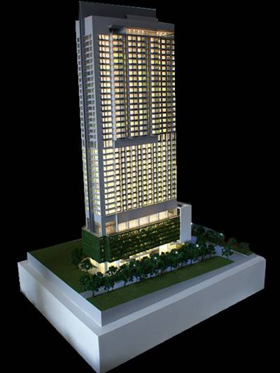 Architectural Model Maker, Singapore Commercial Building Model