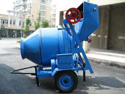 portable concrete mixer,self loading concrete mixer,JZC350 Concrete Mixer
