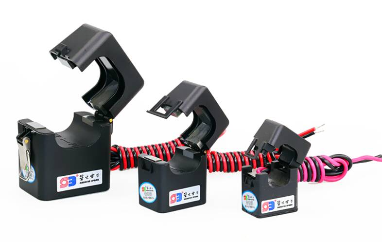 Split core current transformer 1A or 5A output