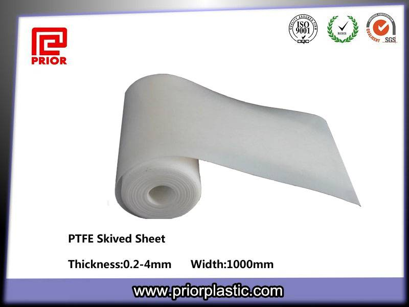 Skived Teflon PTFE Sheet For Sale