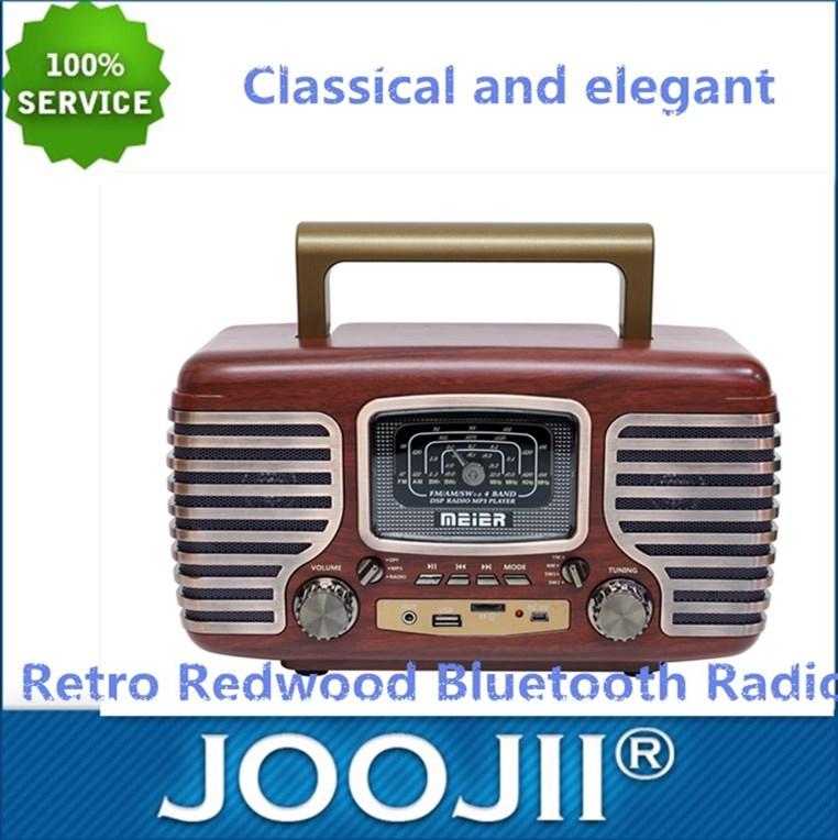 Retro Wooden Bluetooth FM,AM,SW Radio