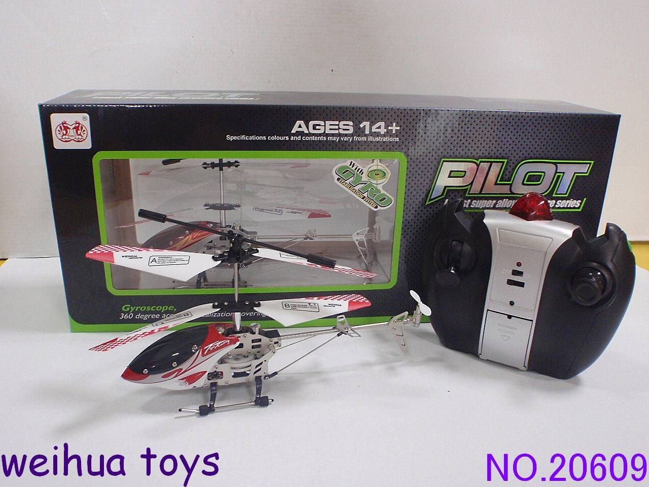 3 CH mini RC helicopter 20609