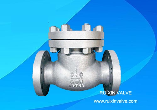 API6D Check Valve Bolted Bonnet Flanged Swing