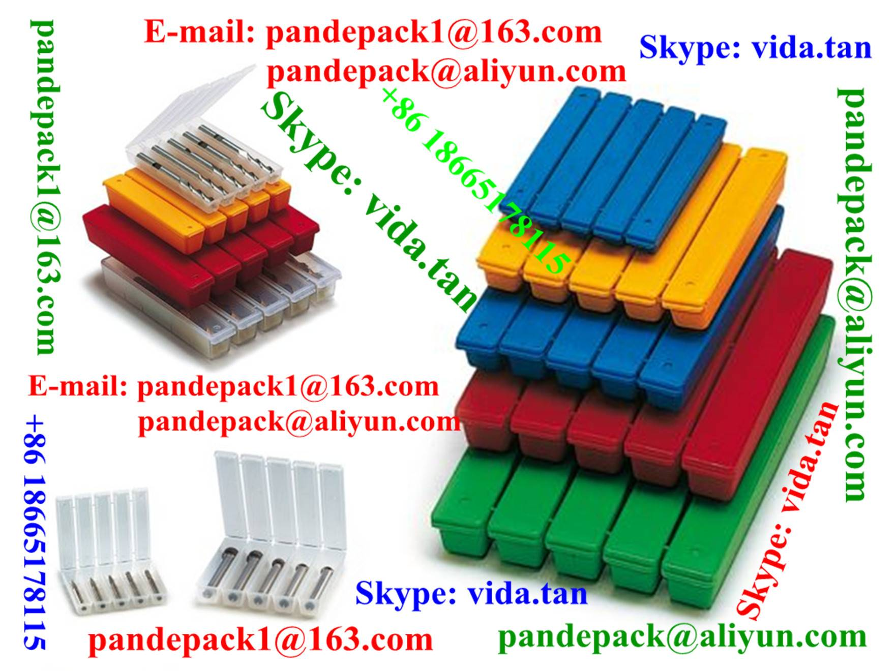 Sell FivePack for Screw Tap/Tool Box/Package/Plastic Box/Pack/Package/Cutting Tool Box/Package/Pack