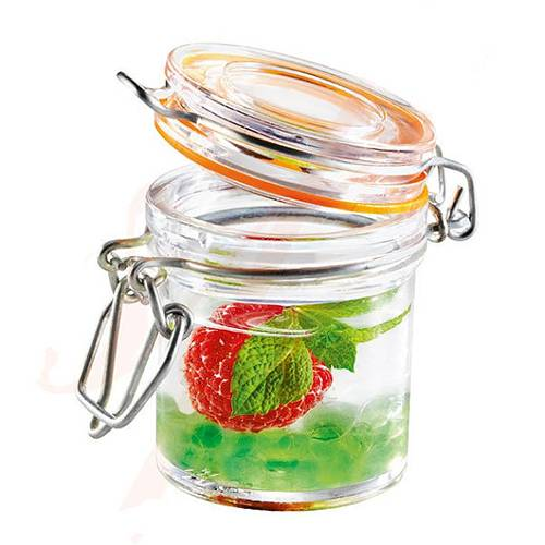 plastic jar 60*48*44mm