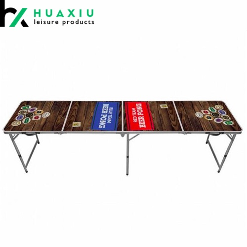 8FT Aluminum Folding Beer Pong Tables