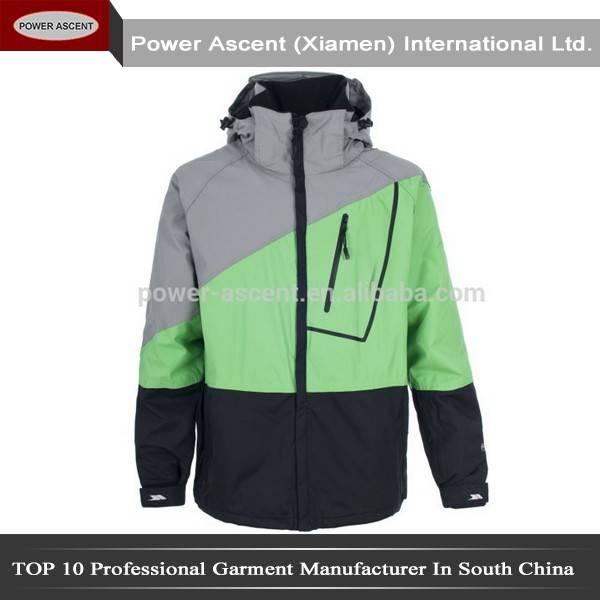 2015 mens winter waterproof ripstop ski jacket