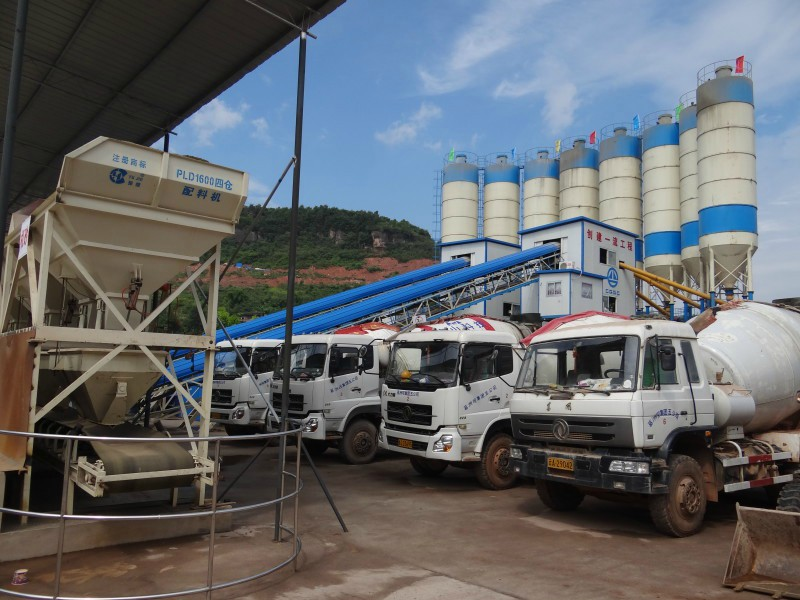 Reliable Performance Concrete Mixing Plant Price
