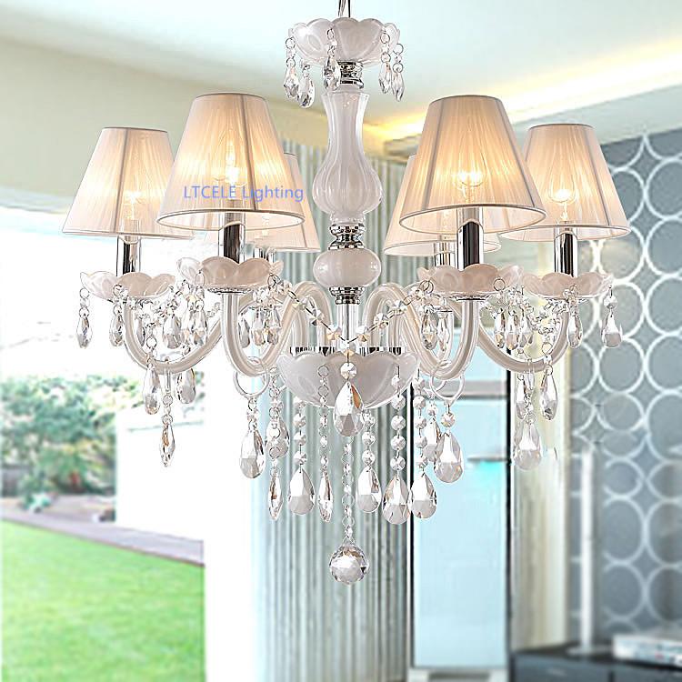 Modern crystal chandelier K9 crystal 110~240V lustres de cristal chandelier for living room