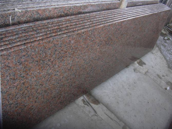 Hottest and Cheapest Polished Maple Red Granite Slabs and Tiles on sales