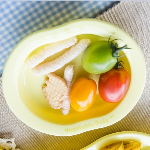Eco friendly baby weaning tableware Plate made from cornstarch (PLA)