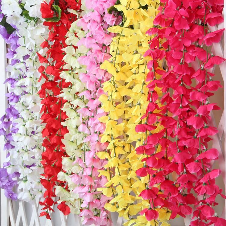wisteria /artificial wisteria/ wisteria flower artificial