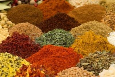 INDIAN ORGANIC SPICES / CERALS