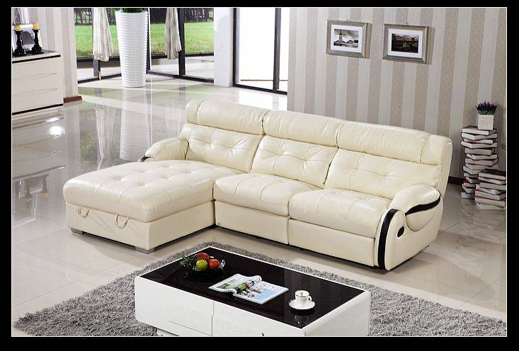 Luxury modern design leisure leather sofa living room sofa