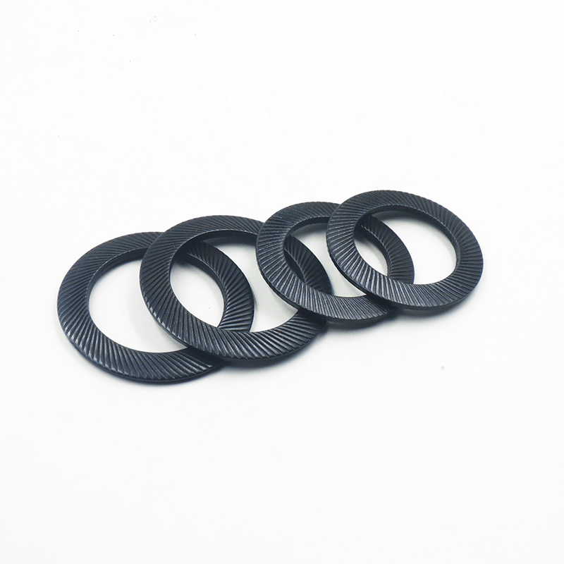 DIN9250 (SS) Lock washers with doule faced printing, stainless steel