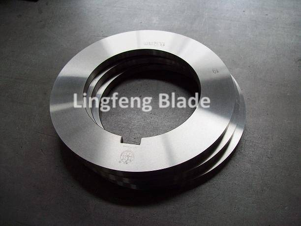 Round Knife in Plastic/Rubber/Paper Processing