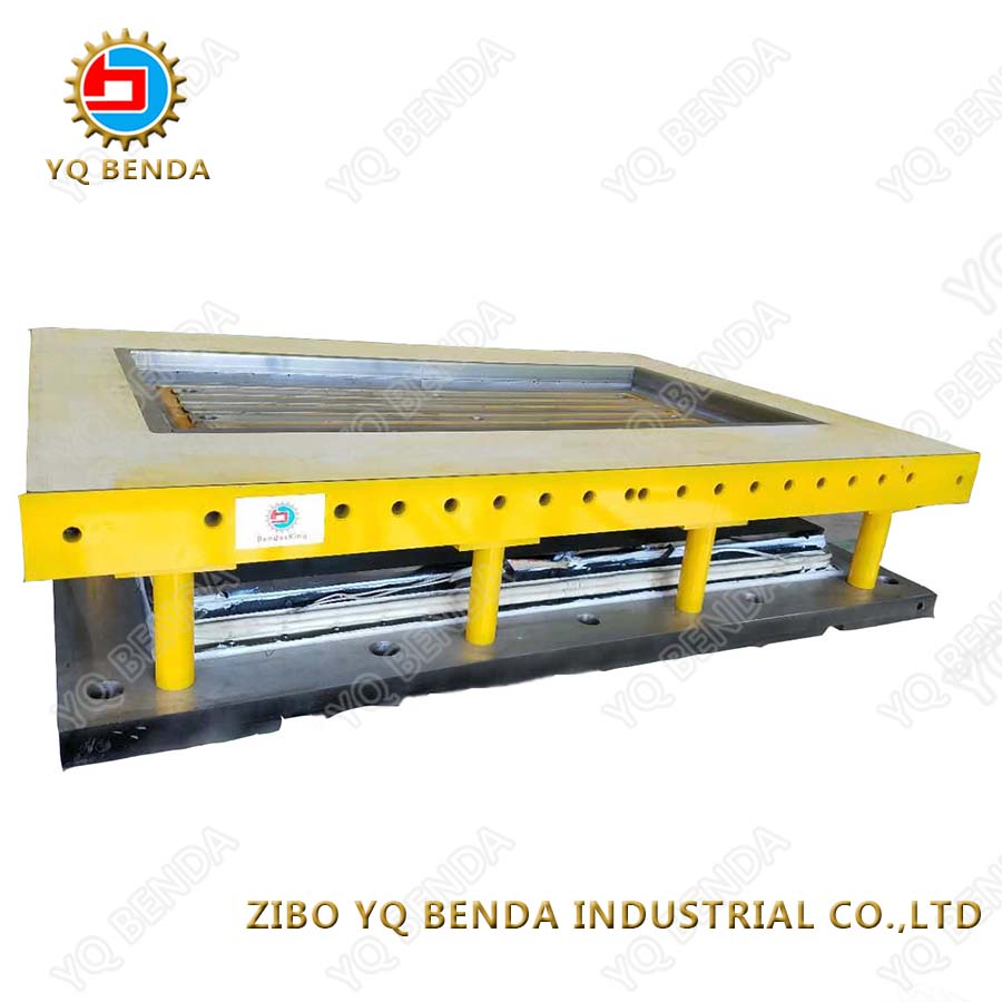 Press machine matching steel ceramic tile mould