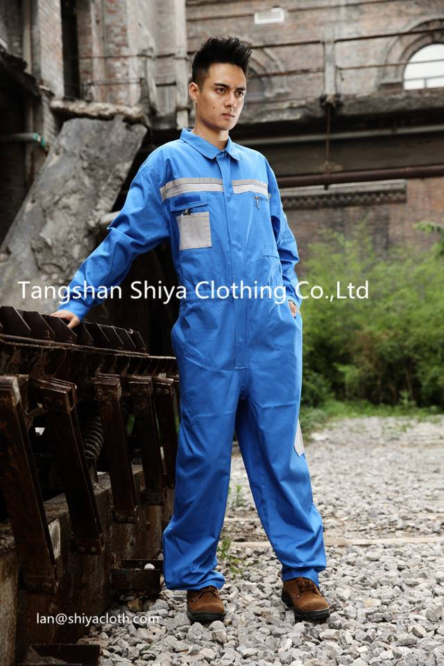 mechanic 100% cotton workwear coverall for mens