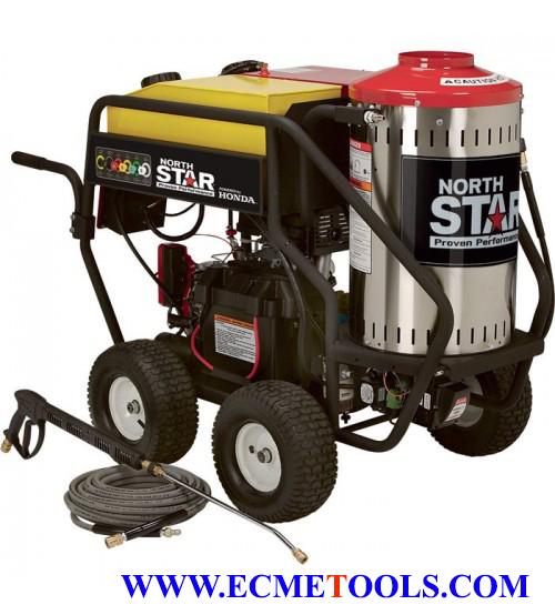 NorthStar Gas Wet Steam & Hot Water Pressure Washer - 3,000 PSI, 4.0 GPM, Honda Engine