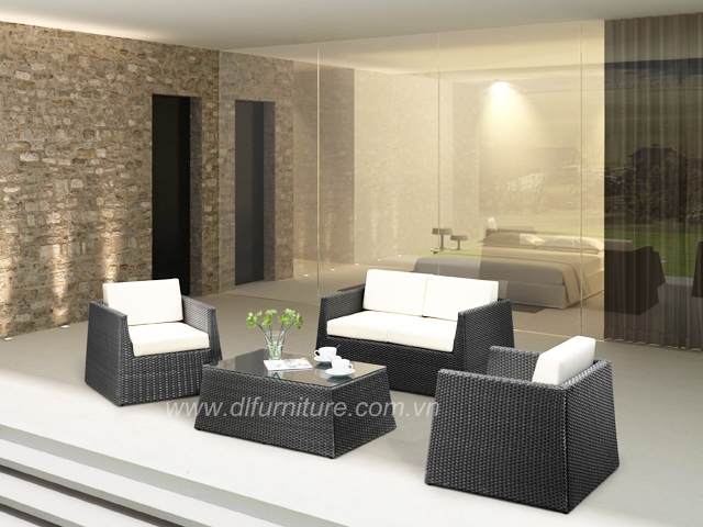 Poly Rattan Sofa Sets