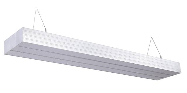 suspended aluminum light with three connect linear light pandent light