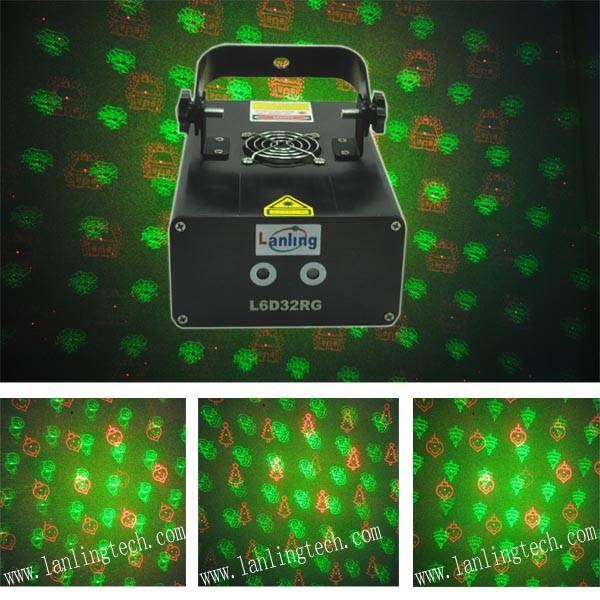 Christmas laser light projector 150mW Twinkling Laser Light