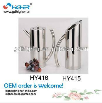 Mirror Finish with spout stainless steel water pitcher
