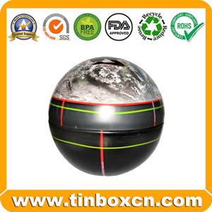 Ball tin can,tin box,metal tin container,tin case