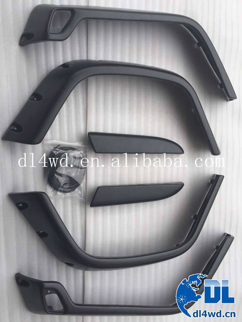 4x4 auto parts fender flares universal for Jeep Wrangler TJ