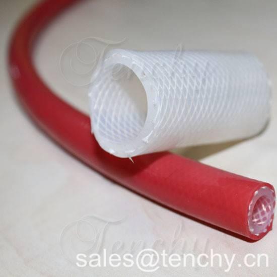 Silicon braided hose/high temperature silicon hose