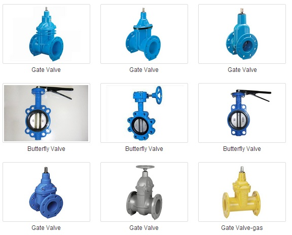 Ductile Iron (GGG) Valve Body, Gate Valve, Butterfly valve, Check Valve, Air Release Valve