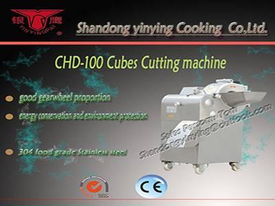 CHD100 cubes cutting machine