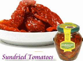 Mediterranean natural sun-dried tomato