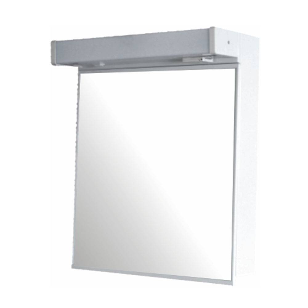 Mirror cabinet with light