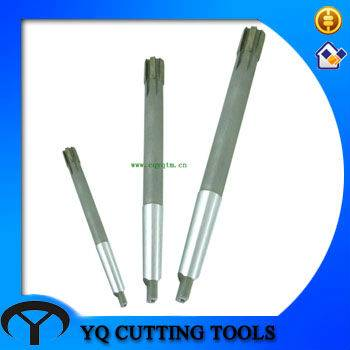 Product name : taper shank machine reamer  Material : High Speed Steel  Outside Dia : 10-32  Overall