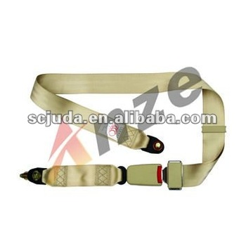E9 Bus lifeboat 2 points customized Biege Safety Seat belt without retractor factory wholesale