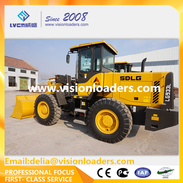 SDLG 3T China loader LG933L wheel loader for sale