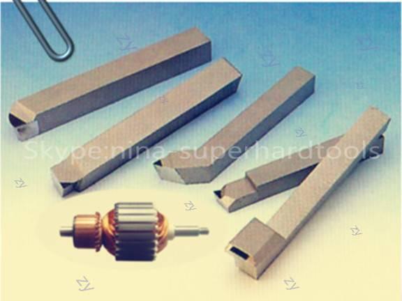 PCD motor commutator machining cutter