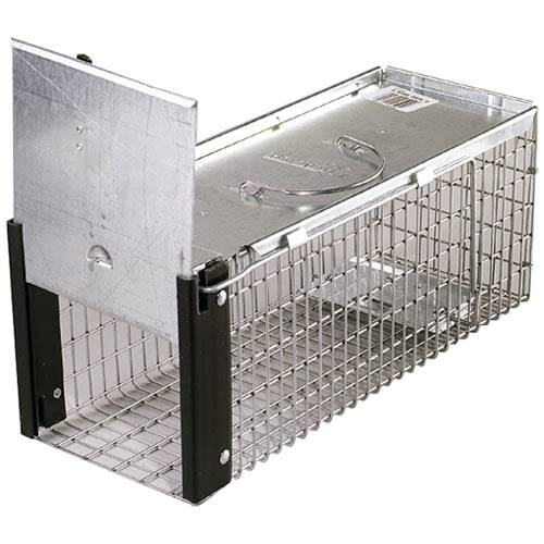 One door Spring loaded chipmunks mice & rats trap cage—need bait