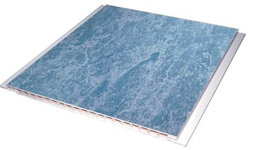 Artistic Pattern PVC Flat False Ceiling Design