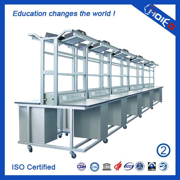 Electronic Product Process Workstation,electronic experimental trainer for school lab,vocational tea