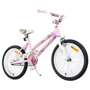 Tauki Spring 20 inch Flowers Girl Bike, Pink